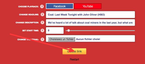 Publier une vidéo Youtube sur Facebook en grand format