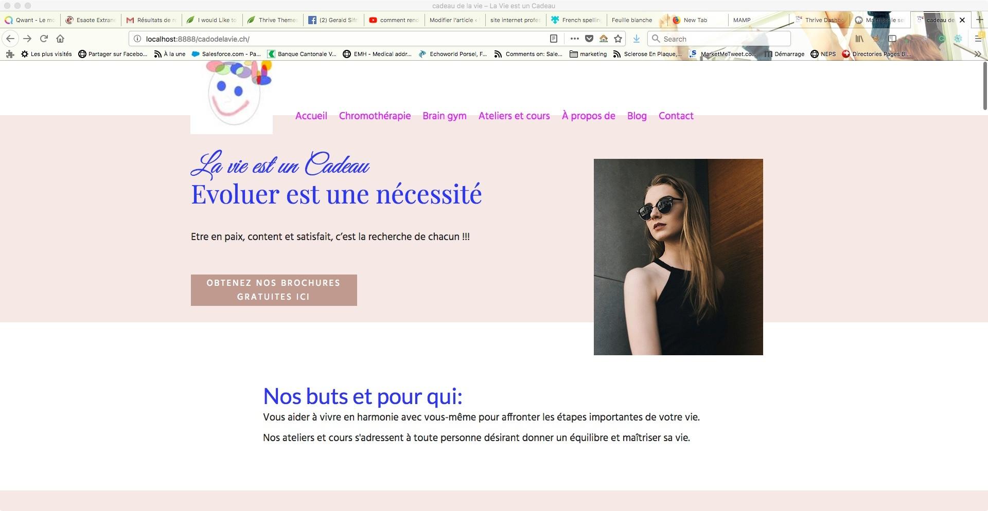 site internet professionnel de développement personnel
